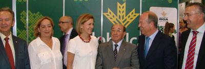 Globalcaja destaca su apoyo al ajo morado de Las Pedroñeras
