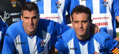 Mena y Pedro Díaz volverán a formar con el Talavera. (Foto: C.Granda)