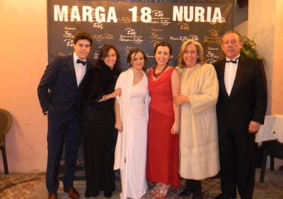 Puesta de largo de Margarita Dégano y Nuria del Pino