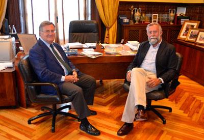 García-Tizón ultima detalles con Ramos ante su inminente toma de posesión como alcalde de Talavera