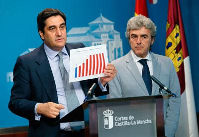 Echániz insta al consenso entre PP y PSOE para mejorar la asistencia sanitaria