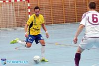 El juego de cinco le da al FS Talavera un punto en Leganés
