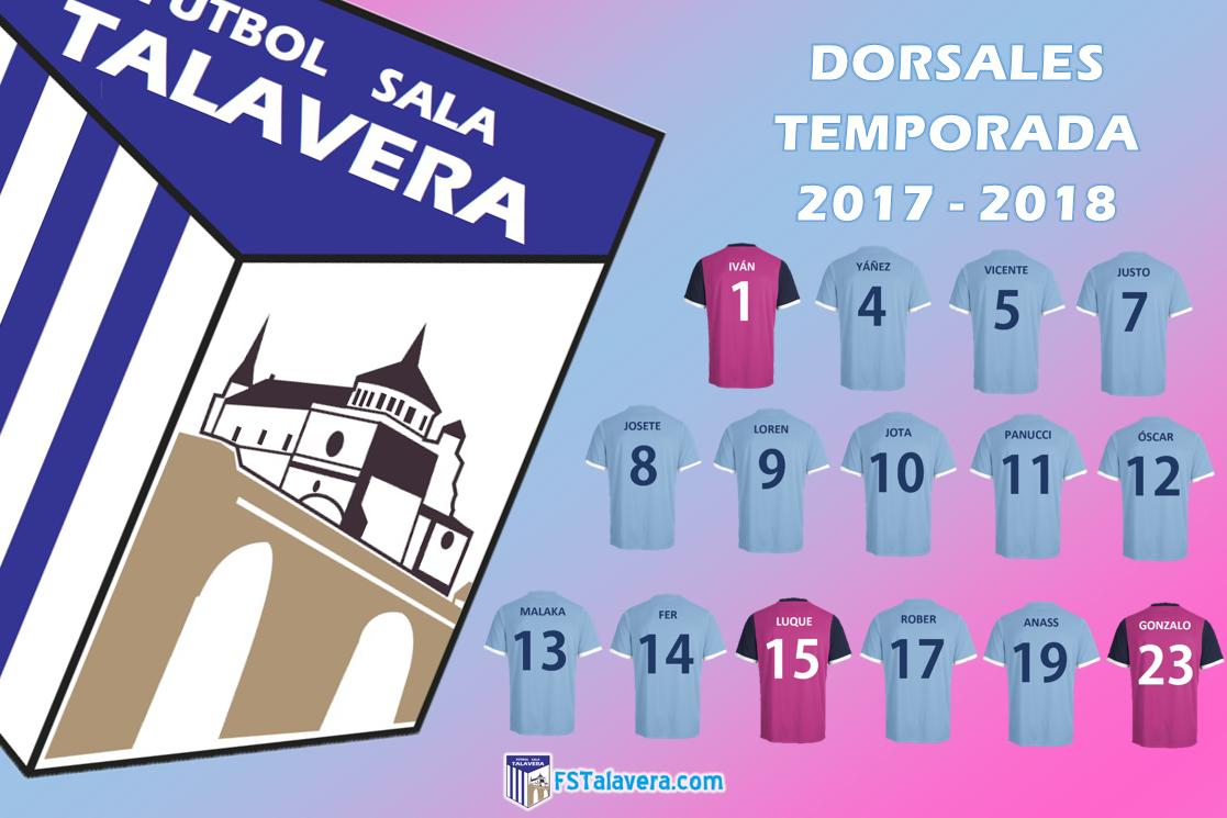 Los jugadores del Soliss FS Talavera eligen sus dorsales para la nueva temporada