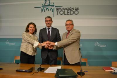 Diputación, Junta y Cruz Roja renuevan esfuerzos para seguir luchando contra la pobreza infantil