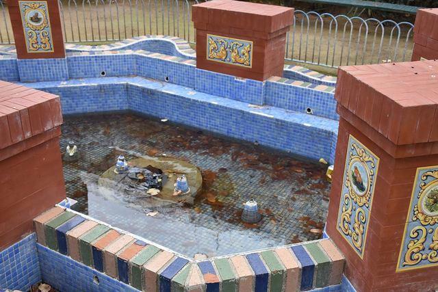 Sólo 7 de las 32 fuentes ornamentales de Talavera funcionan