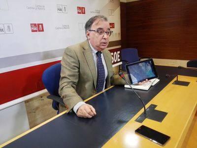"""PSOE: 'Murcia, los regantes y el PP saben que el trasvase es inviable, pero se niegan a reconocerlo"""""""