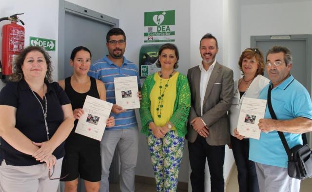 La Diputación invierte más de 360.000 euros en la adquisición de desfibriladores