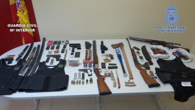 Detenidos en Toledo y Madrid seis narcotraficantes implicados en un intento de homicidio