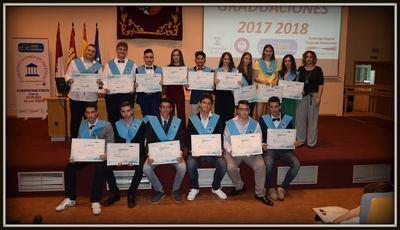 Alumnos de 3º de Infantil, 6º de Primaria y 4º de ESO, del Clemente Palencia, celebran su graduación
