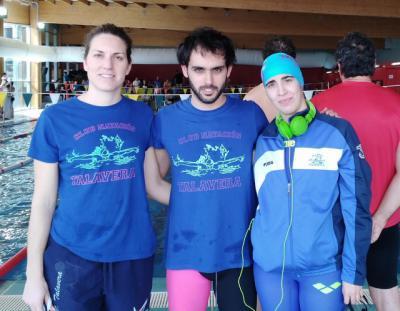 El CN Talavera logra cuatro primeros puestos en la Liga Regional Master