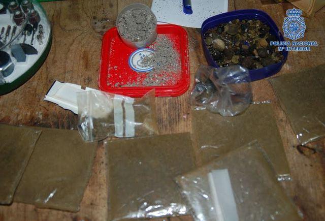 Desarticulado en Cebolla un grupo criminal que elaboraba y distribuía marihuana y hachís
