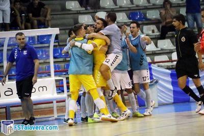El Soliss FS Talavera se lleva el duelo de titanes en el primer encuentro de Copa