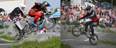 Gran actuación del BMX Los Pinos en n la tercera prueba de la Copa de Francia de BMX