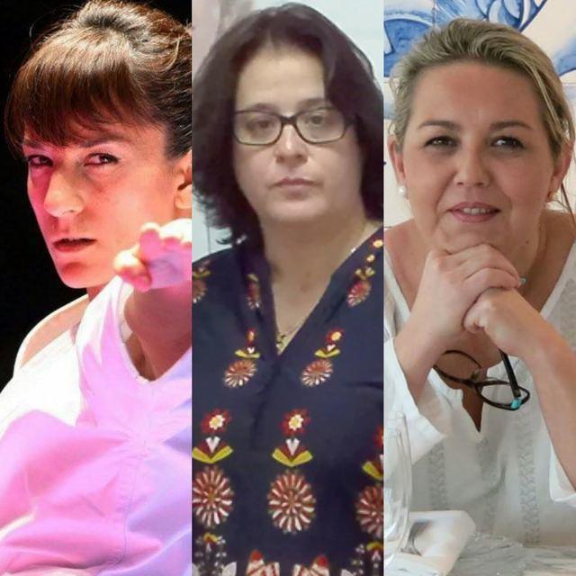 Las talaveranas Sandra Sánchez, Begoña Martín y Mónica García del Pino, premiadas por la Junta
