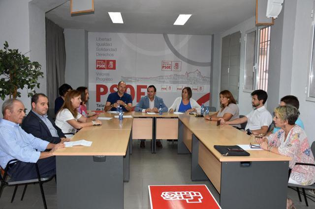 La Ejecutiva Local del PSOE prioriza poner en marcha el desarrollo del suelo industrial en la ciudad