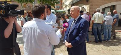 """Alberto Herranz: """"Las granjas de porcino de CLM son un referente de sostenibilidad y un motor de empleo para la región"""""""