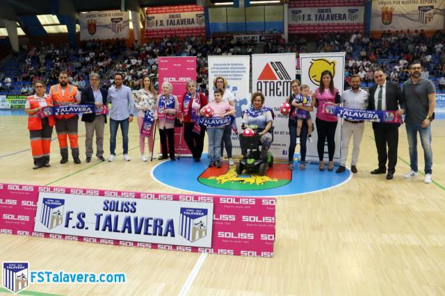 La iniciativa del Soliss FS Talavera de 'El Jugador Número Seis' tocó a su final