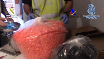 Desarticulado un grupo criminal especializado en la producción de medicamentos ilegales