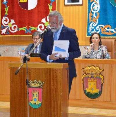 """Ramos presenta una nueva Talavera: """"No pierde habitantes, hay menos parados, más afiliados a la Seguridad Social y más empresas"""""""