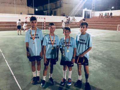 'Toldos Talavera', campeón en el Torneo de Fútbol Sala 3x3 de Montesclaros