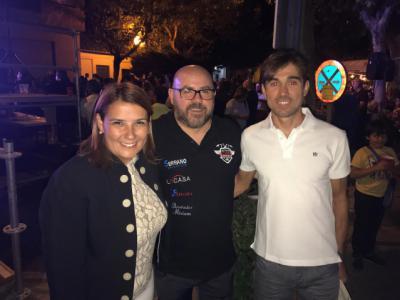 García Élez es nombrada madrina de honor de Talabayra junto al ciclista talaverano David Arroyo
