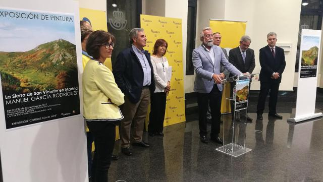 """Inaugurada la exposición de pintura """"La Sierra de San Vicente"""