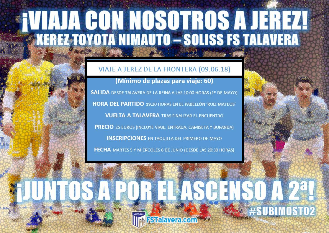 El Soliss FS Talavera fleta un autobús para apoyar al equipo en la lucha por el ascenso