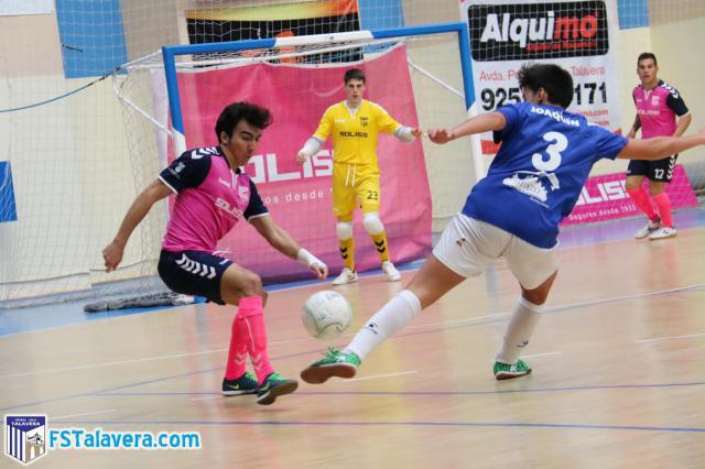 El Soliss FS Talavera saca los tres puntos ante el Jumilla FS