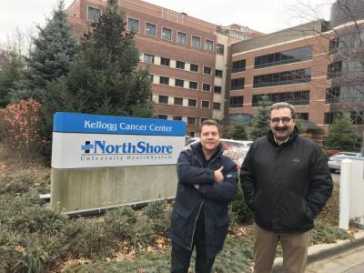 Page y el consejero de Sanidad conocen novedades en resonancia y medicina nuclear en su tercera jornada en Chicago