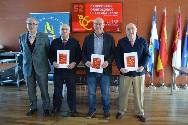 Presentación de la  52 edición del Campeonato Ornitológico que se celebrará en Talavera