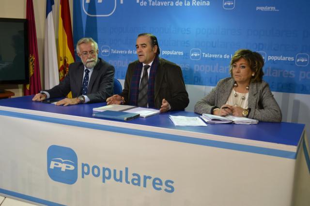 Gregorio anuncia que se renovará la Junta Local del PP de Talavera