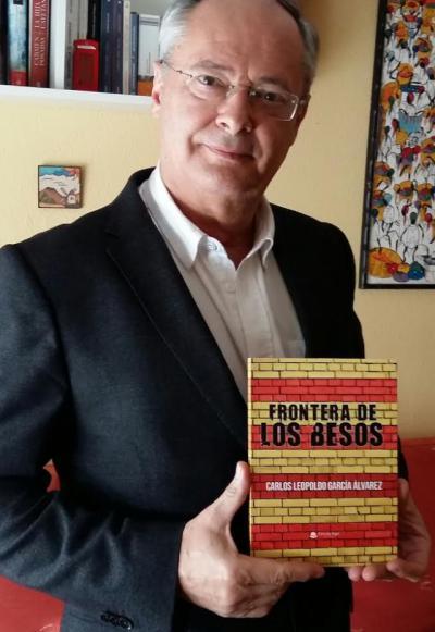 """""""Frontera de los besos"""", la nueva novela de Carlos Leopoldo García Álvarez"""