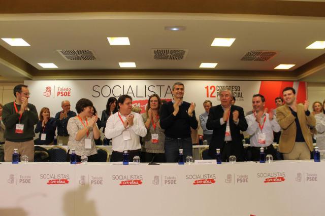 Álvaro Gutiérrez presenta la nueva Ejecutiva Provincial del PSOE de Toledo: