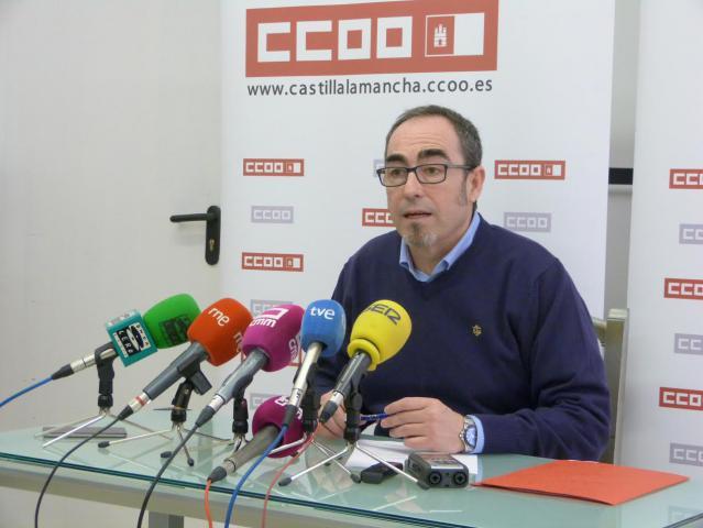 Los retos de CCOO CLM para 2018: empleo de calidad, la subida de los salarios y dar impulso al diálogo social con Gobierno y patronal