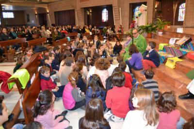 La Puebla de Montalbán (Toledo) acoge la celebración de la Infancia Misionera presidida por el Obispo Auxiliar de Toledo