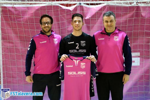 El Soliss FS Talavera se refuerza con Quique Hernando para el tramo final de temporada