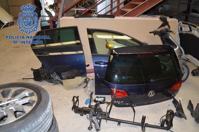 Cae una red que robaba coches para vender sus piezas