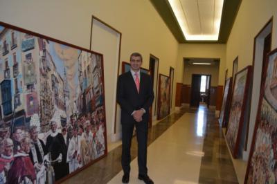 La Diputación abre un año más el atio del Centro Cultural San Cemente al Corpus de Toledo