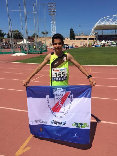 Samuel Serrano, 13º en el Campeonato de España Sub14