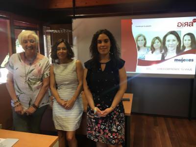 Inaugurado el proyecto 'Gira Mujeres, encuentra tu ruta' en Toledo