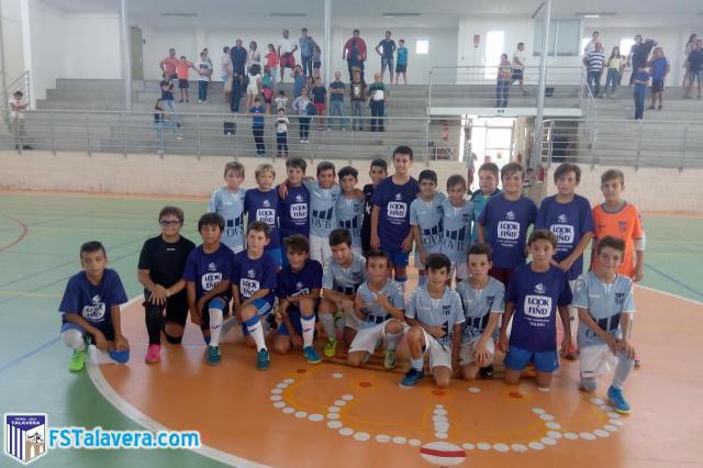 La cantera del Soliss FS Talavera viajó a Moprisala y La Celestina el pasado fin de semana