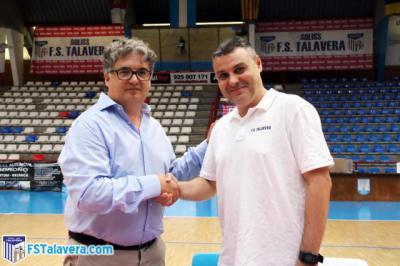 Raúl Aceña renueva y dirigirá al Soliss FS Talavera en Segunda División