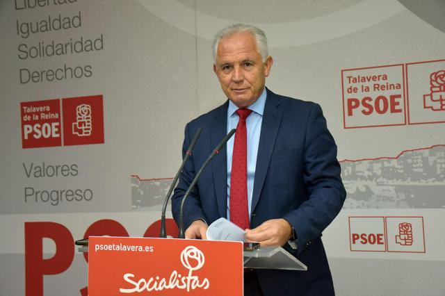 El diputado nacional del PSOE, José Miguel Camacho