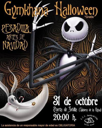 La Asociación Aurelio de León organiza su tradicional yincana de Halloween