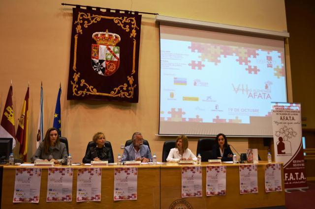 Inauguradas las VII Jornadas de Alzheimer organizadas por AFATA