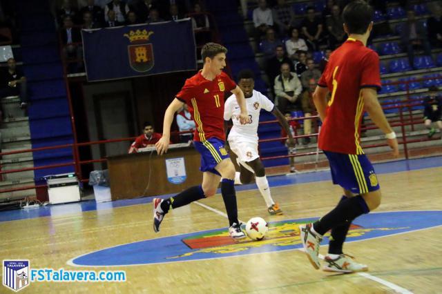 España y Portugal igualan en el primer test ibérico de Talavera de la Reina (2-2)