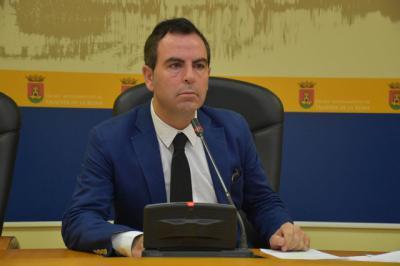 El portavoz socialista José Gutiérrez