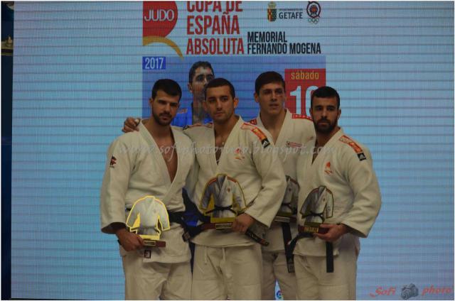 El talaverano Adrián Nacimiento, campeón de la Copa de España Absoluta de Judo