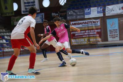 La Academia del Soliss FS Talavera disputa la Champions Futsal Cup de Toledo