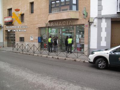 La Guardia Civil detiene a dos personas por comprar en farmacias con recetas falsas